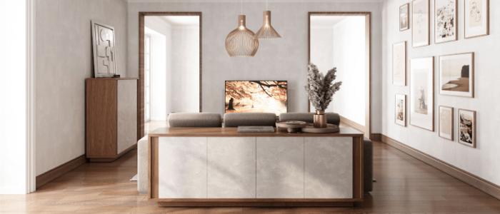 Come arredare un soggiorno moderno di grandi dimensioni?