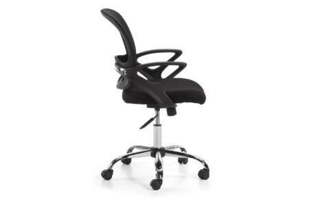 sedia-rotelle-ufficio-nero