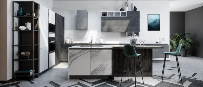Come disporre i mobili di una cucina